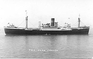 SS Clan Fraser (1938) - Wikipedia
