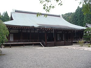 Saihō-ji (Kyoto) - The main temple hall.