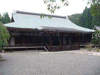 Saihō-ji (Kyoto) - The main temple hall.