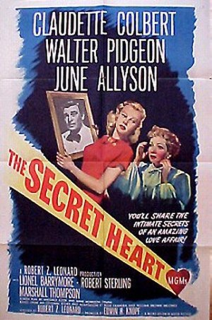 The Secret Heart - Theatrical release poster