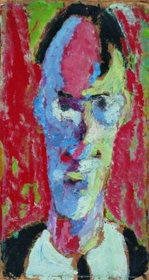 Marino Tartaglia - ''Self-portrait'' (1917).