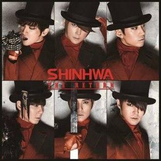 The Return (Shinhwa album) - Image: Shinhwa The Return