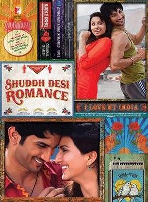 Shuddh Desi Romance - Theatrical release poster