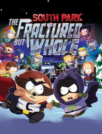 South Park: The Fractured but Whole - Image: South Park The Fractured but Whole cover art
