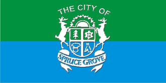 Spruce Grove - Image: Spruce Grove flag