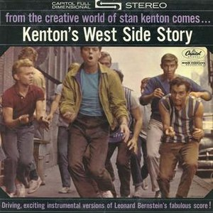 Kenton's West Side Story - Image: Stan Kenton's West Side Story CD cover