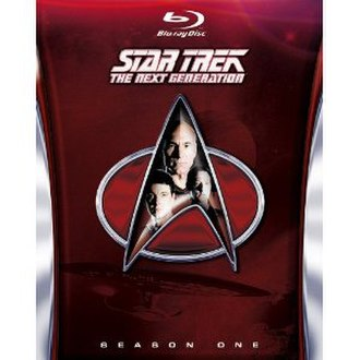 Star Trek: The Next Generation (season 1) - Blu-ray cover