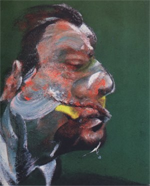 Triptych, May–June 1973 - Study for the Head of George Dyer (1966)