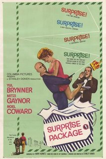 <i>Surprise Package</i> (film) 1960 film by Stanley Donen