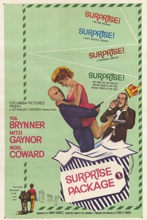 Surprise Package (film) - Image: Surprise Package (film poster)