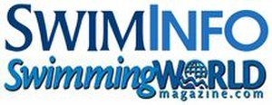 Swimming World - Image: Swimming World Magazine Masthead Swiminfo xsmall