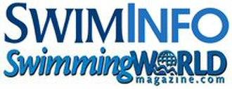 Swimming World - Image: Swimming World Magazine Masthead Swiminfo xsmall