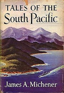 <i>Tales of the South Pacific</i> 1947 collection of short stories by James Michener
