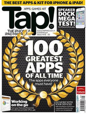 Tap! - Image: Tap magazine, issue 9 cover