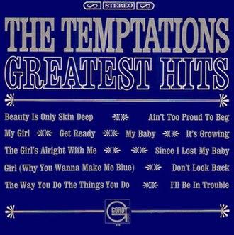 Greatest Hits (The Temptations album) - Image: Tempts greatest vol 1