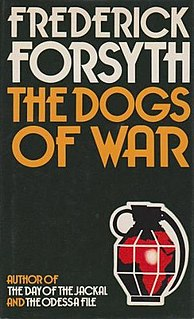 <i>The Dogs of War</i> (novel) novel by Frederick Forsyth