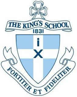 The Kings School, Parramatta Independent day and boarding school in North Parramatta, Sydney, New South Wales, Australia