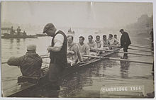 The 1914 Cambridge Boat Race crew by Christine Broom.jpg