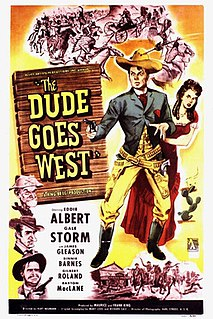 <i>The Dude Goes West</i> 1948 film by Kurt Neumann
