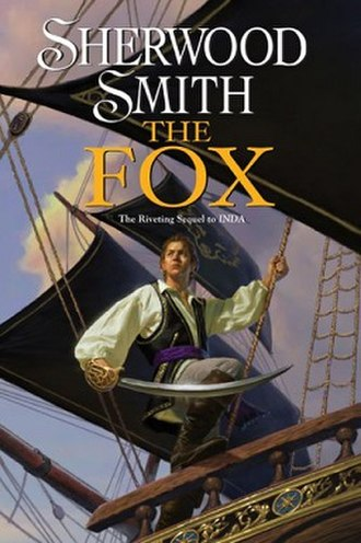 The Fox (Sherwood Smith novel) - First edition cover