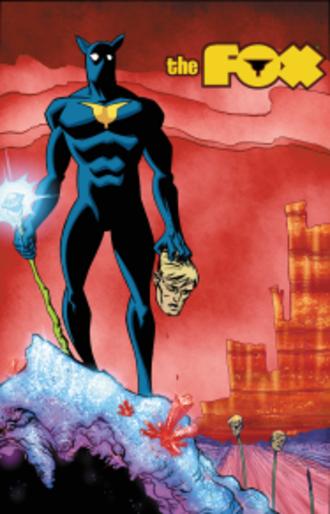 Fox (comics) - Image: The Fox Issue 3 Red Circle Comics