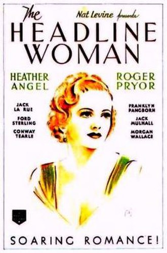 The Headline Woman - Image: The Headline Woman Film Poster