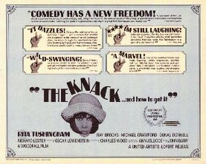 The Knack …and How to Get It - Theatrical poster
