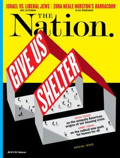 <i>The Nation</i> Weekly magazine on progressive politics and culture, based in New York City