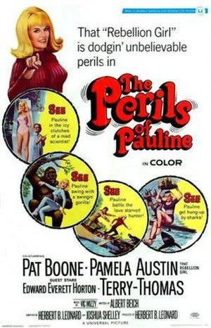 The Perils of Pauline (1967 film) - Film poster