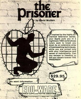 The Prisoner (video game) - Cover art