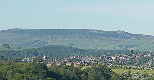 The Roaches - Image: The Roaches over nearby Leek