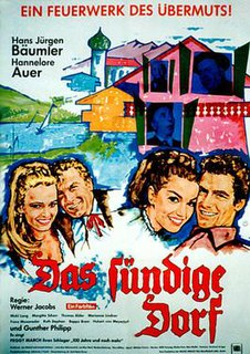 <i>The Sinful Village</i> (1966 film) 1966 film by Werner Jacobs