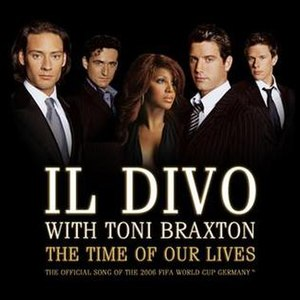 The Time of Our Lives (Il Divo and Toni Braxton song) - Image: The Time of Our Lives (Il Divo and Toni Braxton single cover art)