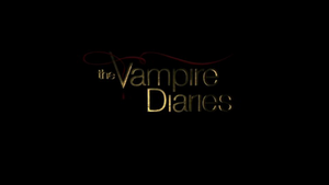 The Vampire Diaries - Image: The Vampire Diaries (title card)