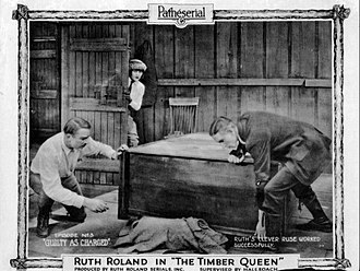 The Timber Queen - Lobby card for Chapter 3