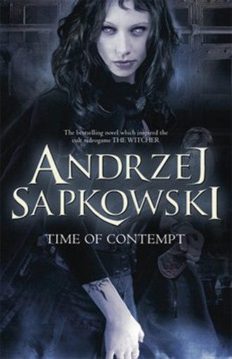 Time of Contempt - Cover of the UK edition