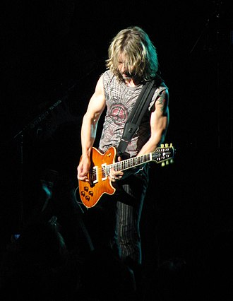 Tommy Shaw - Tommy Shaw performing with Styx on August 15, 2009 at Interlochen Fine Arts Camp.