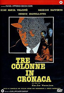 <i>Tre colonne in cronaca</i>