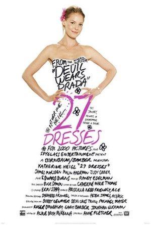 27 Dresses - Theatrical release poster