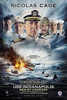 <i>USS Indianapolis: Men of Courage</i> 2016 film by Mario Van Peebles