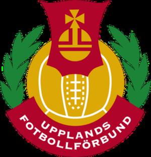 Upplands Fotbollförbund - Image: Upplands Fotbollförbund