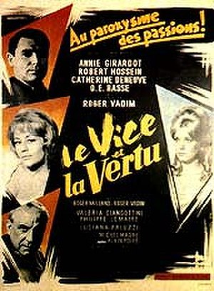 Vice and Virtue - original film poster