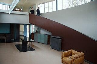 villa in Paris by Le Corbusier