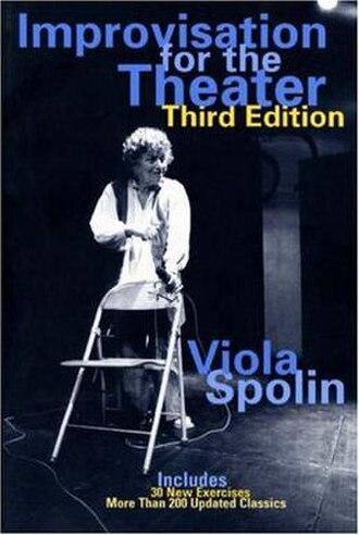 Viola Spolin - Book cover featuring Spolin