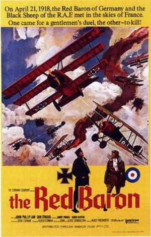 Von Richthofen and Brown - Theatrical release poster