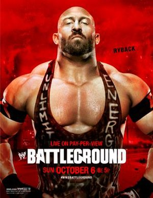 Battleground (2013) - Promotional poster featuring Ryback