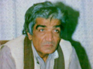 "Wasif Ali Wasif - Wasif Ali Wasif on the cover of his published book ""Dil Darya Samundar""."