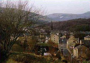Waterfoot, Lancashire - Image: Waterfoot