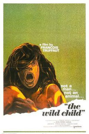 The Wild Child - Theatrical release poster