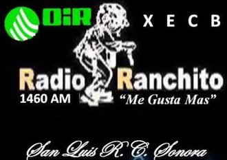XECB-AM - Image: XECB Radio Ranchito 1460 logo